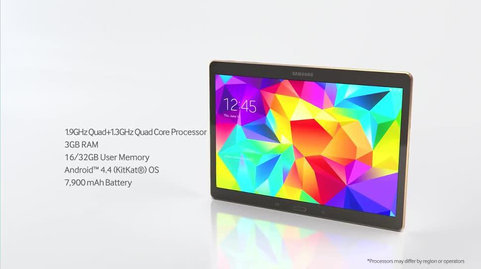 Android, Tablet, Samsung, Samsung Galaxy, Galaxy, Galaxy Tab, Samsung Galaxy Tab S, Galaxy tab S 10.5