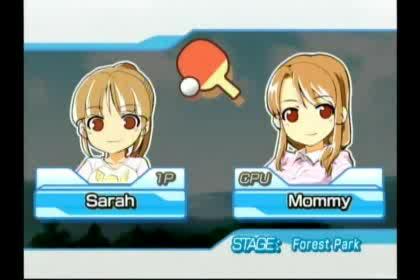 Nintendo, Wii, Family Table Tennis