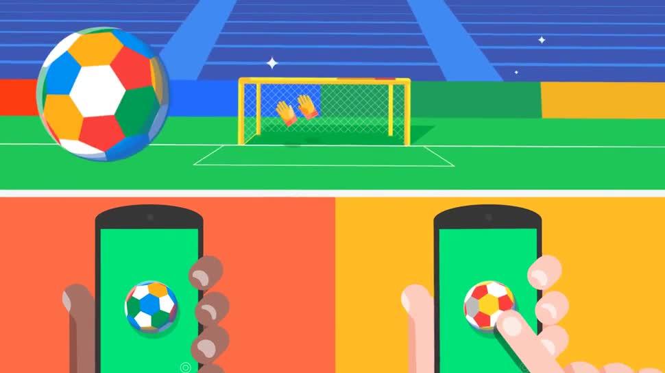 Google, Chrome, Fußball, Google Chrome, Browser-Spiel, Browser-Game, Chrome Experiments, Kick with Chrome