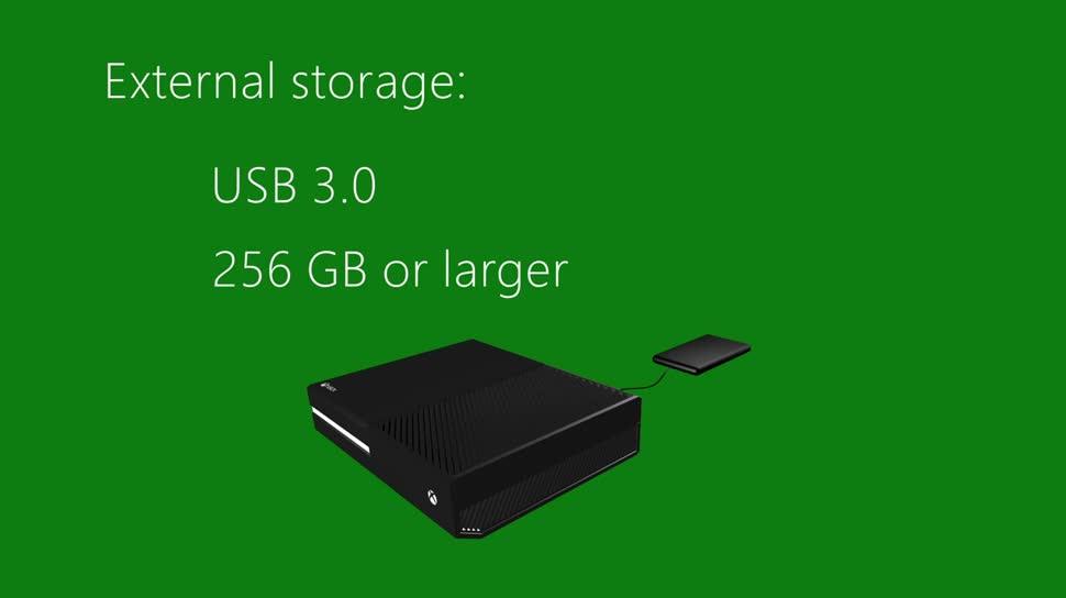 Microsoft, Xbox, Xbox One, Microsoft Xbox One, USB 3.0