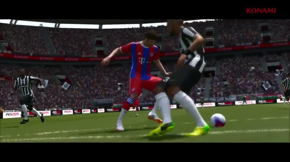 Trailer, Fußball, Konami, PES, Pro Evolution Soccer, PES 2015