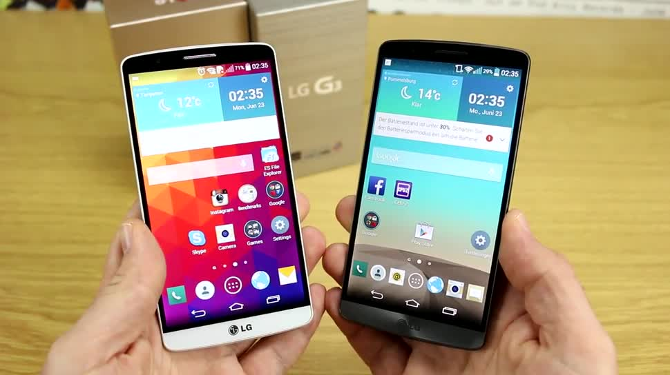Smartphone, Video, LG, Test, Quadcore, SoC, Review, Android 4.4, KitKat, LG G3, Qualcomm Snapdragon 801, Android 4.4.2, G3, ausprobiert