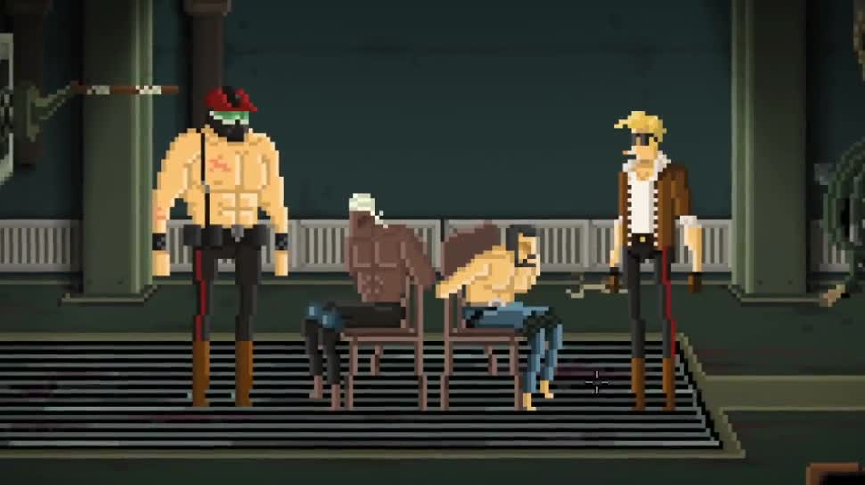 Trailer, Gameplay, Devolver Digital, Point and Click Adventure, Gods will be Watching