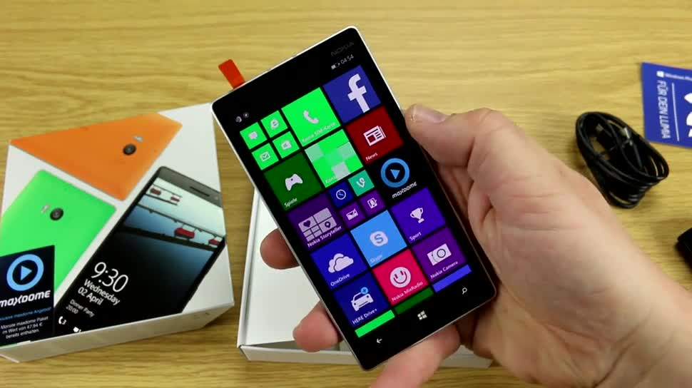 Microsoft, Smartphone, Windows Phone, Nokia, Lumia, Windows Phone 8.1, Nokia Lumia, Unboxing, Nokia Lumia 930, Lumia 930