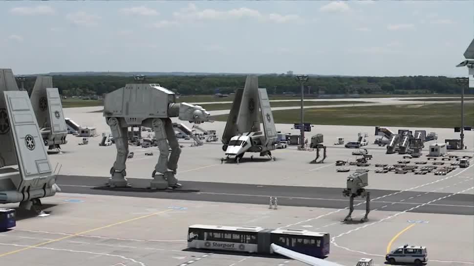 Youtube, Star Wars, Fake, Frankfurt, Flughafen Frankfurt, Star Wars: Episode VII, Frank Wunderlich