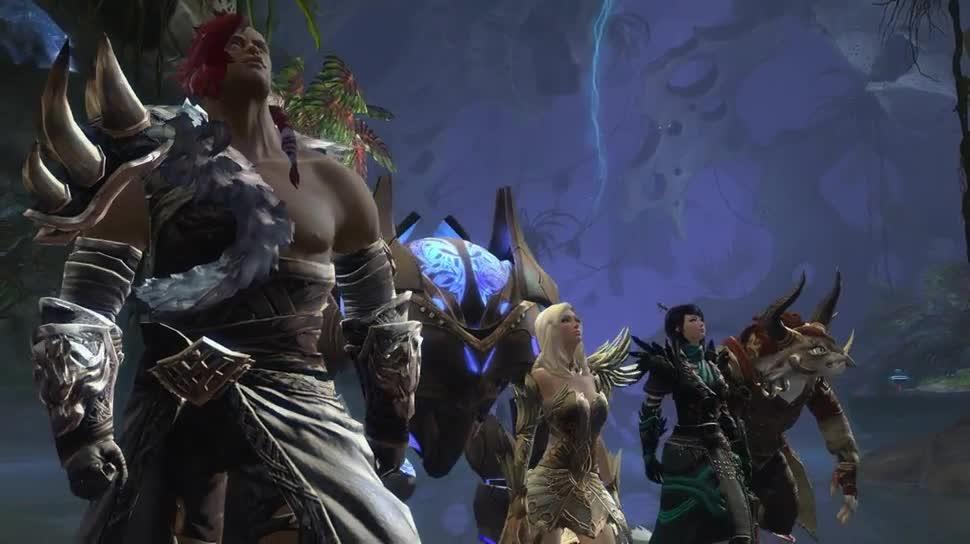 Trailer, Online-Spiele, Mmo, Mmorpg, Online-Rollenspiel, Guild Wars 2, Ncsoft, ArenaNet, Guild Wars, Verschlingung