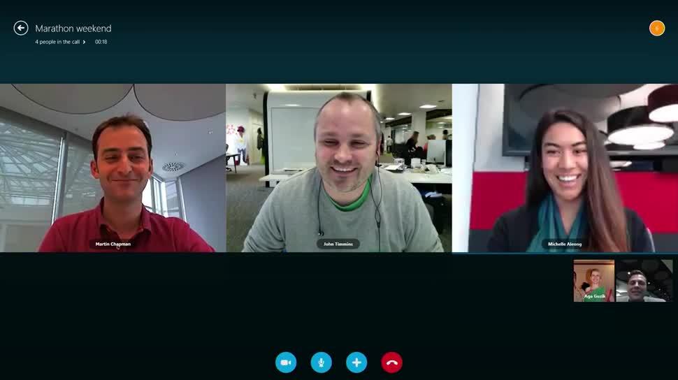 Microsoft, Windows, App, Windows 8, Windows 8.1, Skype, Skype Videotelefonie, Skype Videochat, Skype App, Skype für Windows 8, Skype for Windows 8
