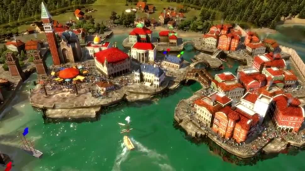Trailer, Kalypso Media, Wirtschaftssimulation, Rise of Venice, Rise fof Venice - Gold Edition