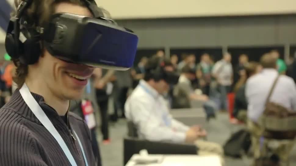 Virtual Reality, Oculus Rift, Oculus VR, VR-Brille, Oculus, GDC, John Carmack, Palmer Luckey, GDC 2014, Oculus Rift DK2