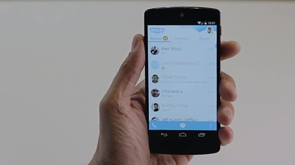 Microsoft, Skype, Kontakte, Skype for Android, Skype App, Skype 5.0