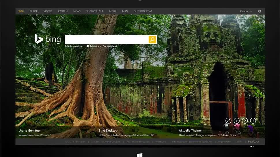 Microsoft, Suchmaschine, Bing, Suche, Websuche, Bildersuche, Bing Suchmaschine, Videosuche
