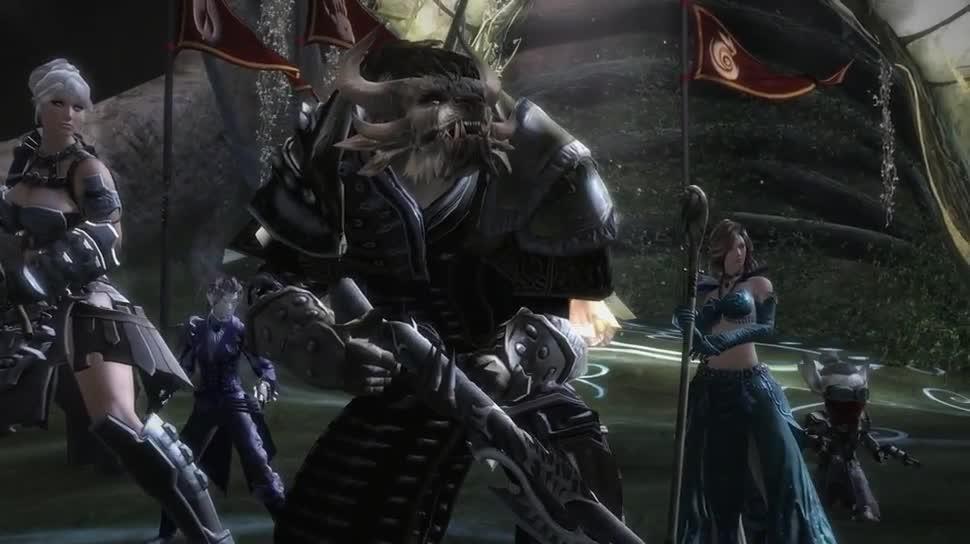 Trailer, Online-Spiele, Mmorpg, Mmo, Online-Rollenspiel, Guild Wars 2, Ncsoft, ArenaNet, Guild Wars, Im Bann des Drachen