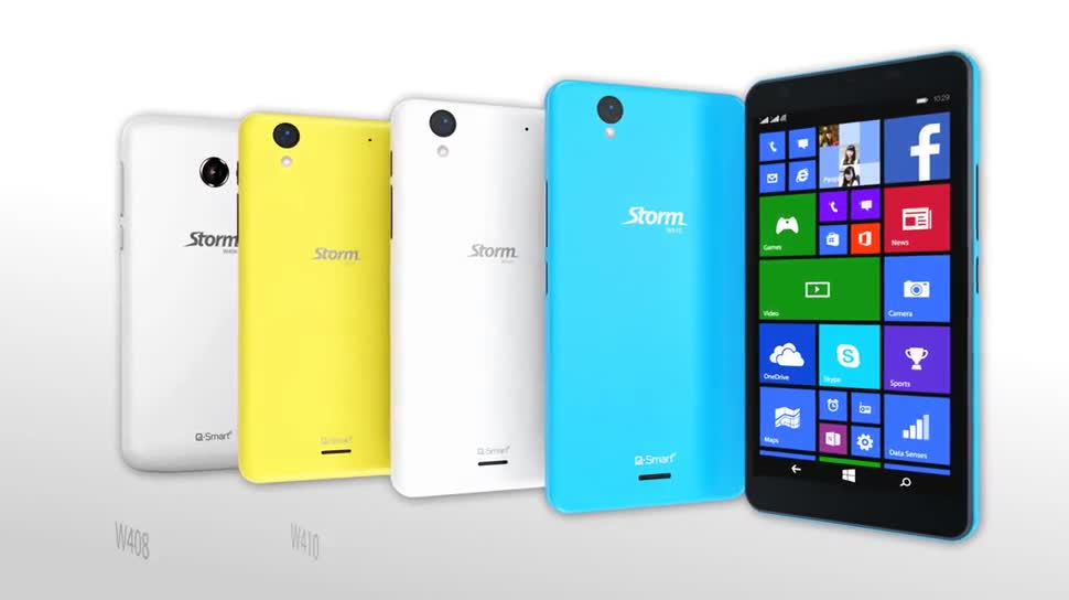 Microsoft, Smartphone, Windows Phone, Windows Phone 8, Werbespot, Windows Phone 8.1, Q-Smart, Q-Mobile