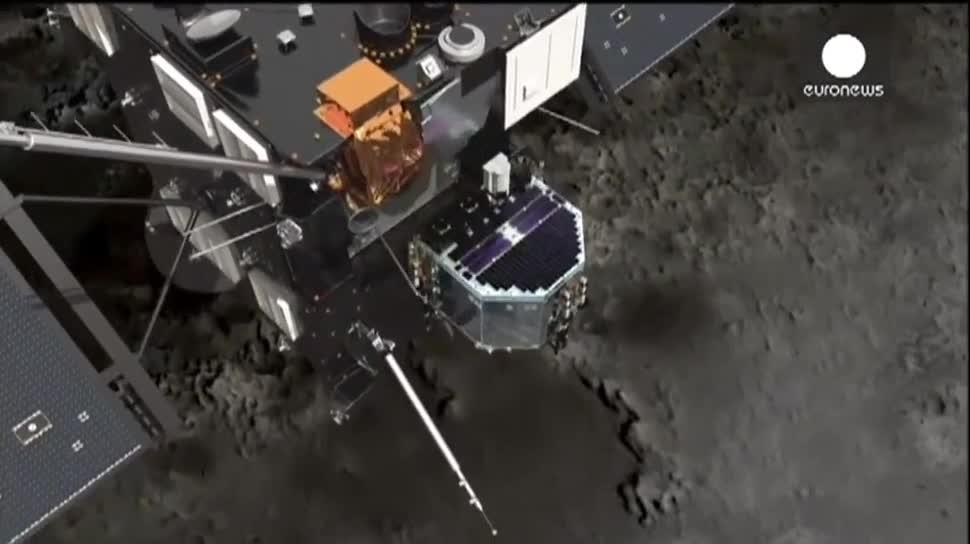 Sonde, Esa, Rosetta, Raumsonde, 67P/Churyumov-Gerasimenko, Philae, Kometen, Tschurjumow-Gerassimenko