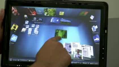 Desktop, 3d, Physik Engine, BumpTop