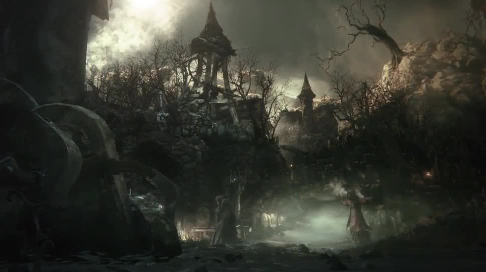 Trailer, Sony, PlayStation 4, Playstation, PS4, Sony PlayStation 4, Gamescom, Rollenspiel, Sony PS4, Gamescom 2014, Gamescom 2014 Sony, From Software, Bloodborne