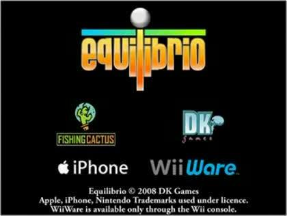 Nintendo, Wii, Puzzle, WiiWare, Equlibrio