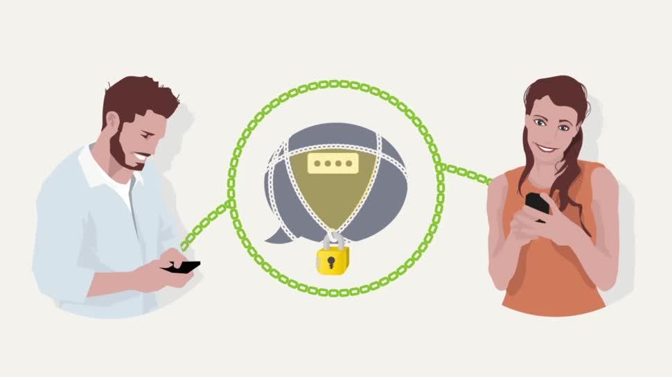 Android, iOS, Messenger, Verschlüsselung, Instant Messenger, Instant Messaging, Deutsche Post, SIMSme