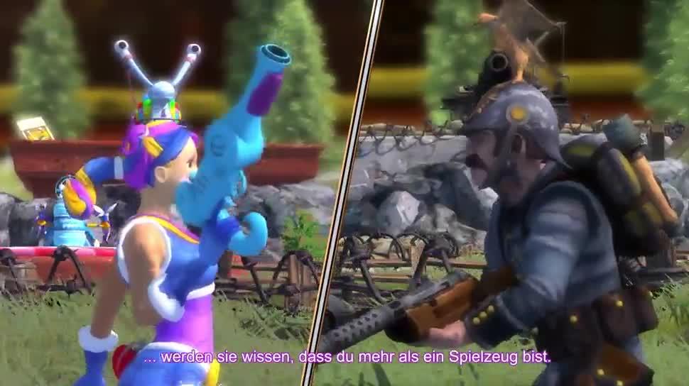 Trailer, Ubisoft, Gamescom, Strategiespiel, Gamescom 2014, Toy Soldiers, Toy Soldiers: War Chest