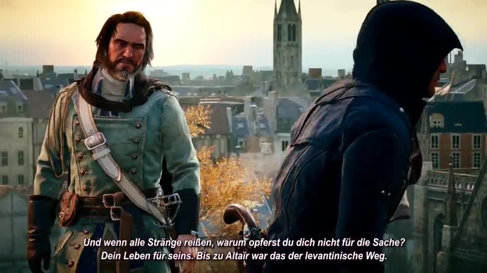 Ubisoft, Gameplay, Gamescom, actionspiel, Assassin's Creed, Gamescom 2014, Assassin's Creed Unity