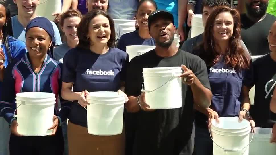 Facebook, IceBucketChallenge, Sheryl Sandberg