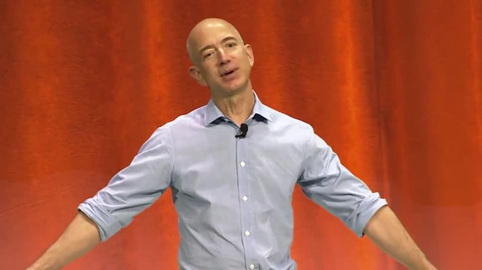 Amazon, Jeff Bezos, IceBucketChallenge