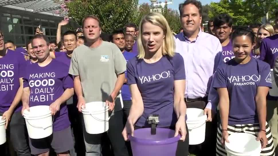 Ceo, Yahoo, Yahoo!, Marissa Mayer, IceBucketChallenge