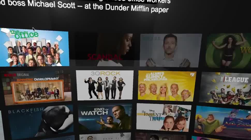 Streaming, Netflix, Virtual Reality, Cyberbrille, Brille, Oculus Rift, Oculus VR, 3D-Fernsehen