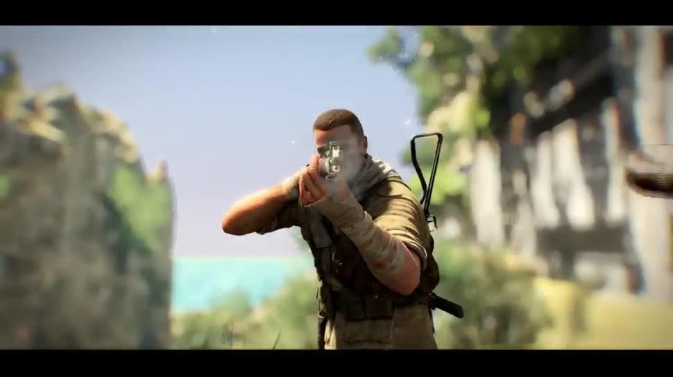 Trailer, Ego-Shooter, Dlc, 505 Games, Rebellion, Sniper Elite 3, Sniper Elite, Save Churchill Part 2: Belly of the Beast