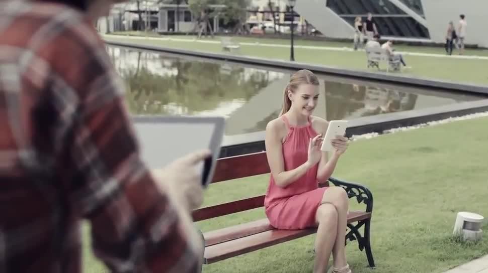 Tablet, Werbespot, LG, LG G Pad, G Pad, QPair 2.0