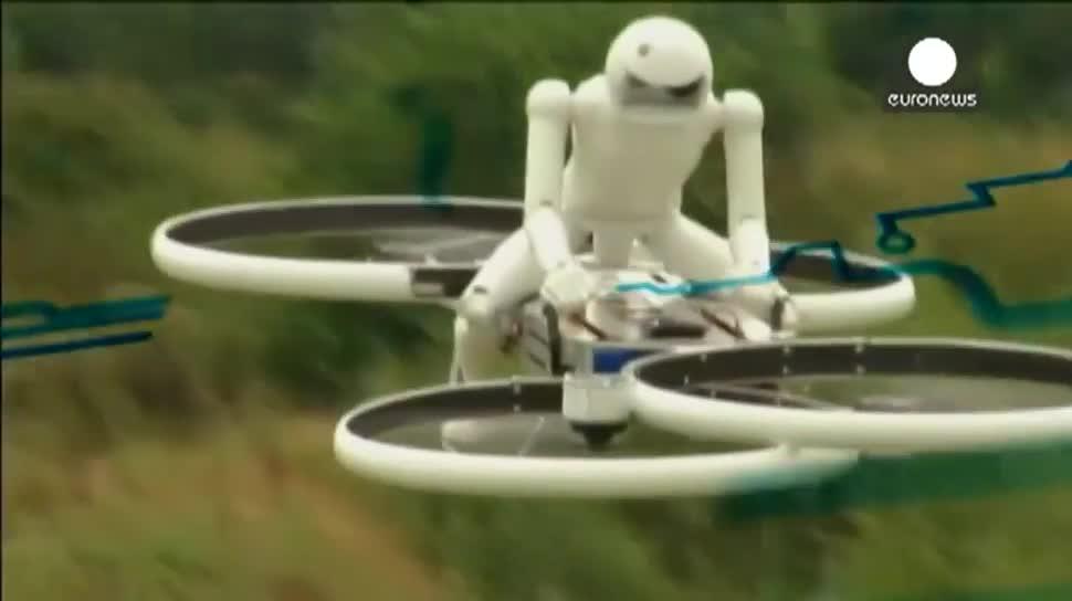 Star Wars, Kickstarter, Drohne, Quadcopter, Hubschrauber, Jedi, Bicopter, Motion-Quadcopters, Malloy Aeronautics, Chris Malloy, Hoverbike