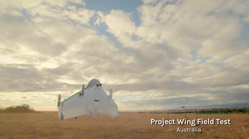 Google, Drohnen, Google X, Project Wing, Google Drohnen