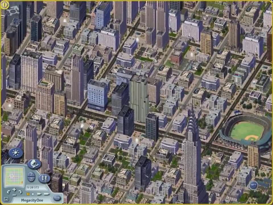 Spiele, Stadt, Sim City, Sim City 4, Metropole
