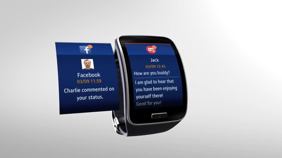 Samsung, smartwatch, Ifa, Wearables, IFA 2014, Samsung Gear, Gear S, Samsung Gear S