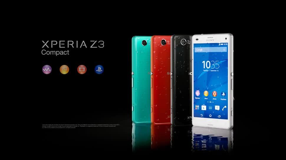 Smartphone, Android, Sony, Ifa, Xperia, IFA 2014, Sony Xperia, Xperia Z, Sony Xperia Z, Xperia Z3 Compact, Sony Xperia Z3 Compact