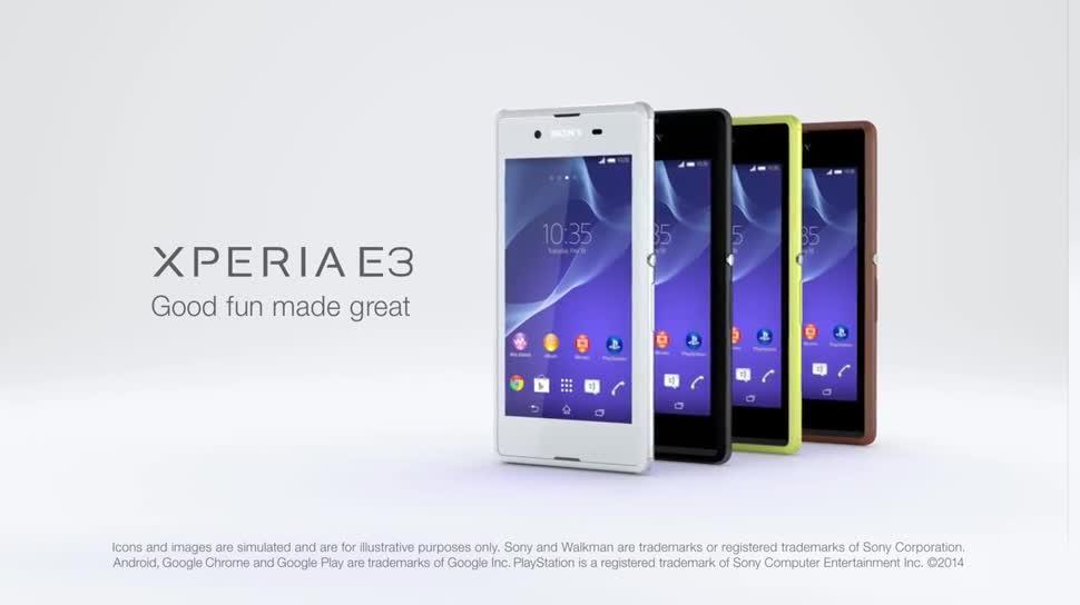 Smartphone, Android, Sony, Ifa, Xperia, Sony Xperia, IFA 2014, Xperia E3, Sony Xperia E3