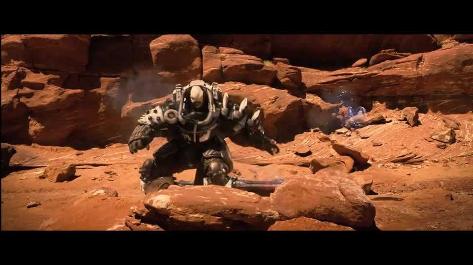 Trailer, Ego-Shooter, actionspiel, Online-Spiele, Activision, Bungie, Destiny