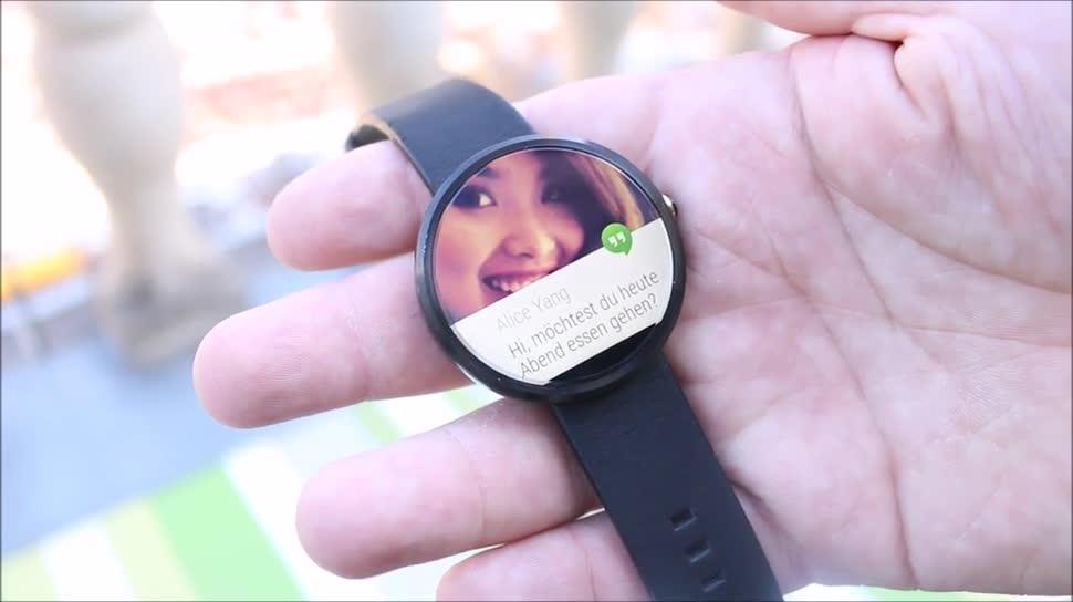 smartwatch, Ifa, Motorola, Hands on, Wearables, Android Wear, IFA 2014, Moto 360, Motorola Moto 360