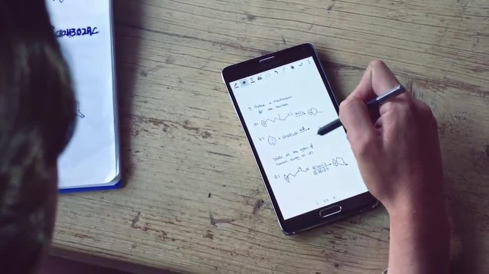 Android, Samsung, Samsung Galaxy, Galaxy, Ifa, Galaxy Note, Samsung Mobile, IFA 2014, Samsung Galaxy Note 4, Galaxy Note 4, Note 4, S-Pen, handschrift, Eingabestift