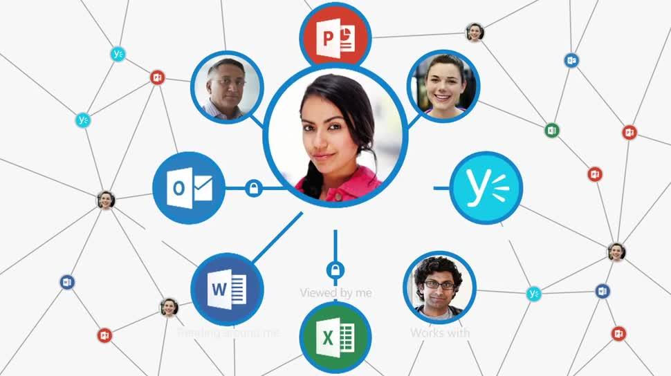 Microsoft, Office, Cloud, Office 365, Microsoft Office, Assistent, Delve