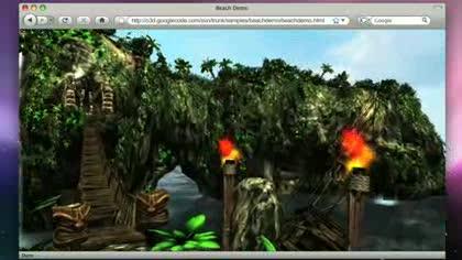 Google, Browser, O3D, 3D-Plugin