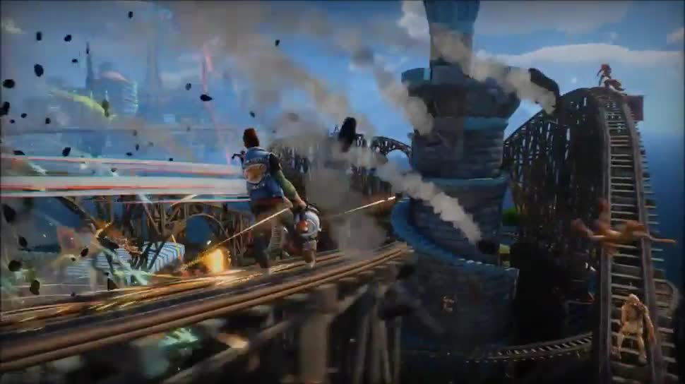 Microsoft, Trailer, Xbox, Xbox One, actionspiel, Microsoft Xbox One, Sunset Overdrive