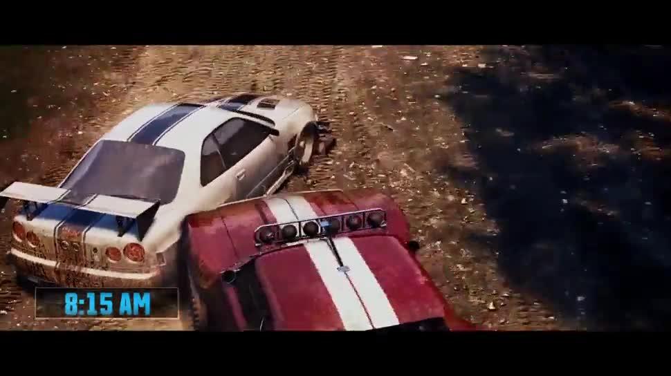 Trailer, Ubisoft, Rennspiel, The Crew