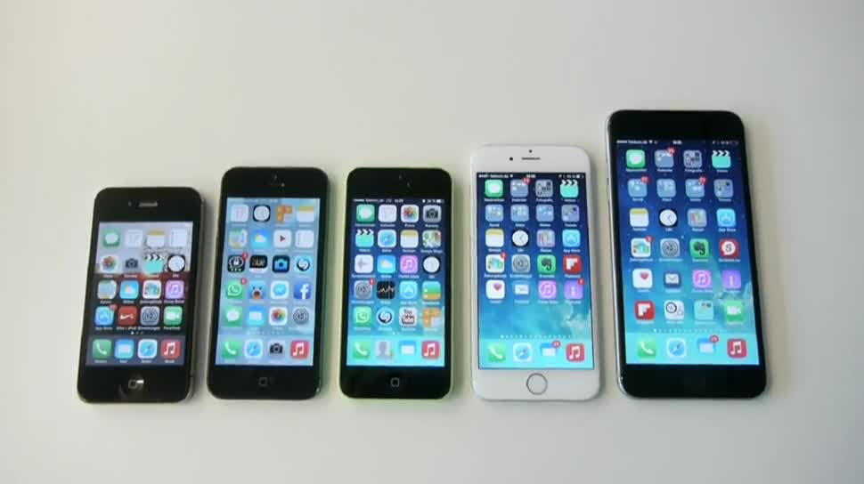 Apple, iPhone 6, iPhone 6 Plus, iOS 8