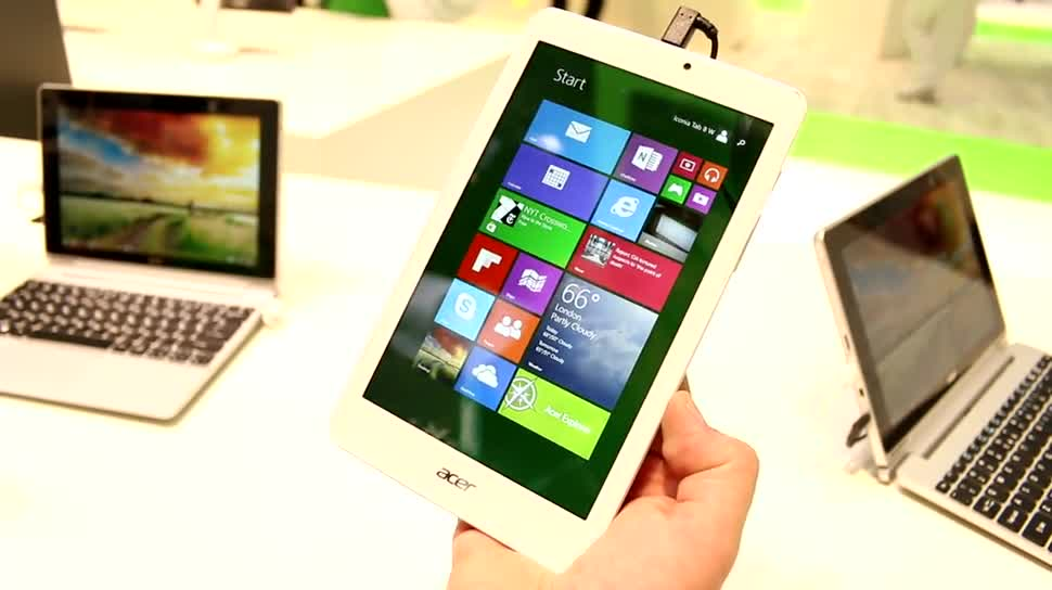Microsoft, Windows 8.1, Intel Atom, Windows 8.1 Tablet, Intel Atom Z3735, Intel Atom Z3735F, Acer Iconia Tab 8 W, Acer Iconia 8W