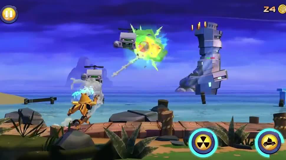 Trailer, Gameplay, Angry Birds, Rovio, Transformers, Angry Birds Transformers