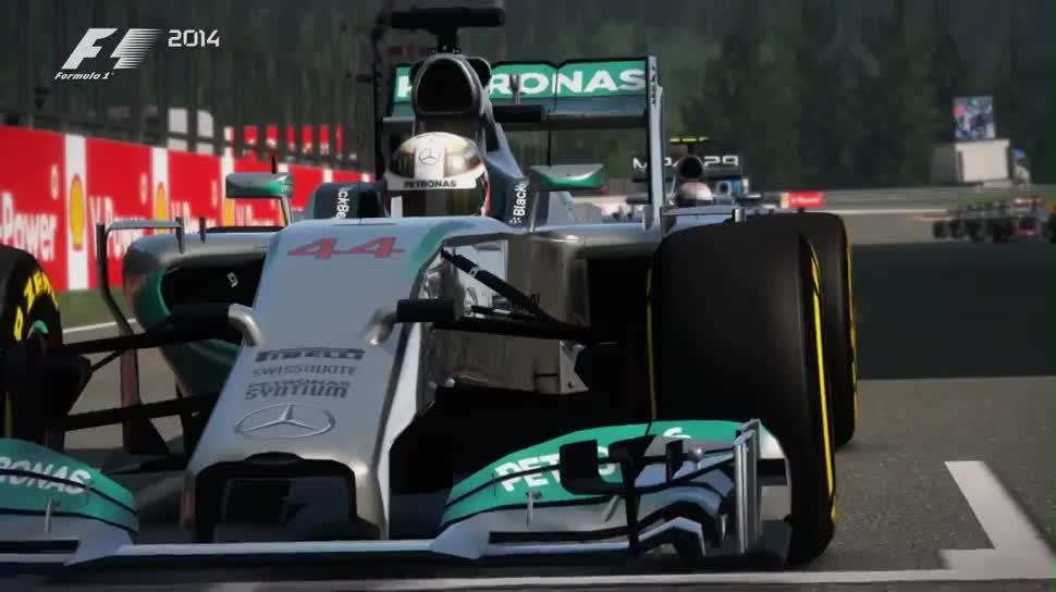 Trailer, Rennspiel, Codemasters, Formel 1, F1, F1 2014