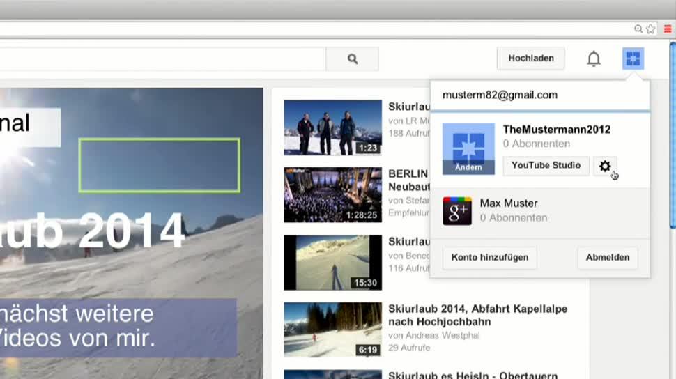 Video, Werbung, Youtube, Overlay, Textfelder