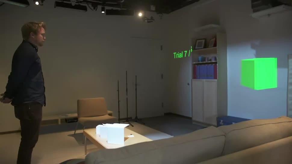 Microsoft, Forschung, Kinect, 3d, Bewegungssteuerung, Microsoft Research, Hologramm, Bewegungserkennung, IllumiRoom, RoomAlive, Mano-a-Mano, Microsoft Forschung