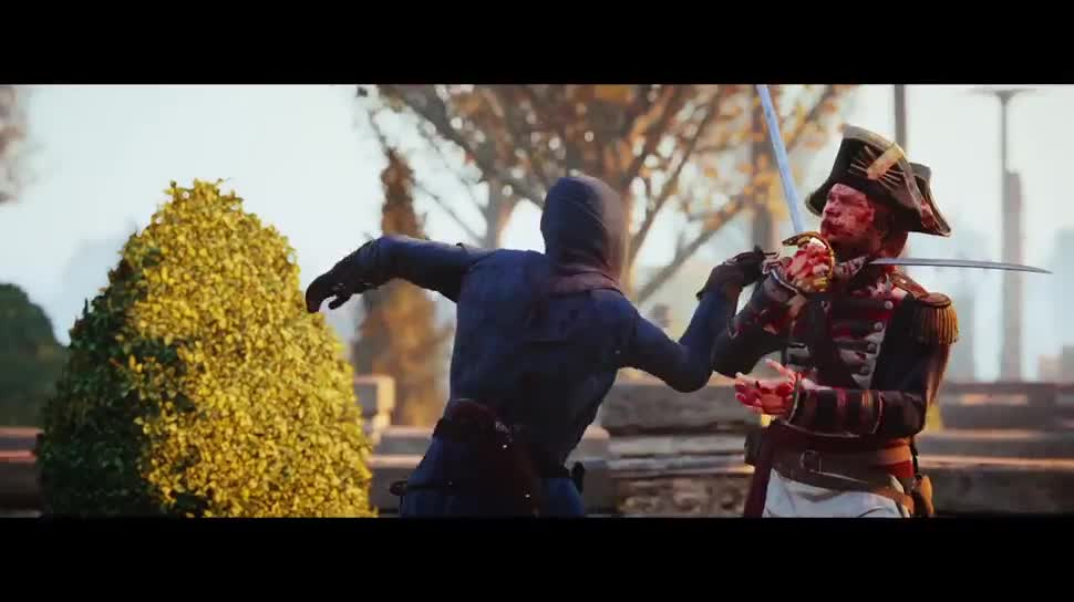 Trailer, Ubisoft, actionspiel, Assassin's Creed, Assassin's Creed Unity